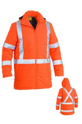 TTMC-W X Taped Hi Vis Puffer Jacket