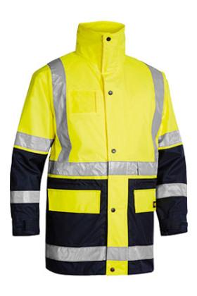 5 in 1 Hi-Vis Rain Jacket