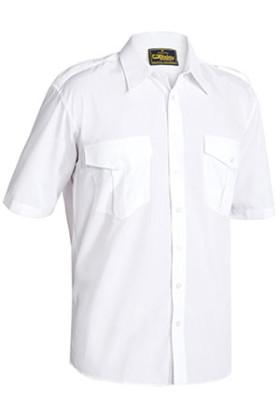 Epaulette Mens S/S Shirt