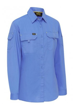 Airflow Ripstop Ladies Long Sleeve Shirt