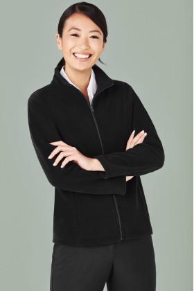 Plain Micro Fleece Ladies Jacket
