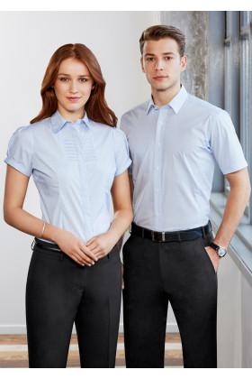 Berlin Mens Short Sleeve Shirt