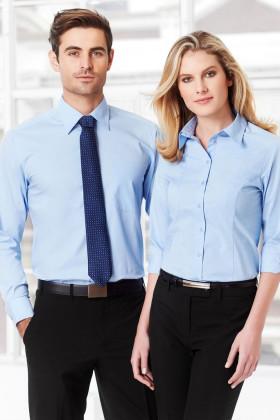 Chevron Mens L/S Shirt