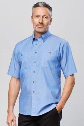 Chambray Mens S/S Shirt