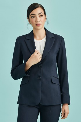 Longline Ladies Jacket (Poly/Bamboo)
