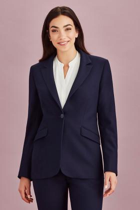 Longline Ladies Jacket (Poly/Viscose)
