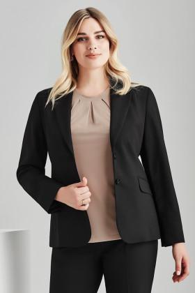Longline Ladies Jacket (Poly/Wool)