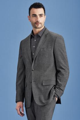 Slimline Mens 2 Button Jacket (Poly/Viscose)