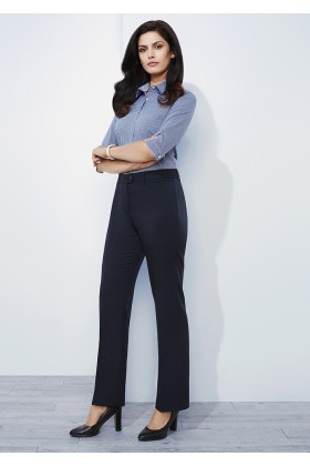 Relaxed Fit Ladies Pant (Poly/Bamboo)