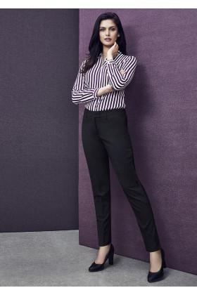 Slim Leg Ladies Pant (Poly/Wool)