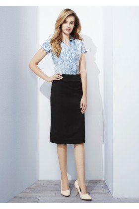 Relaxed Fit Lined Skirt (Poly/Bamboo)