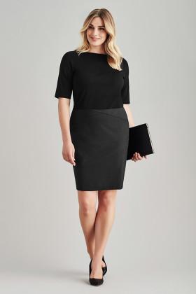 Chevron Band Skirt (Poly/Wool)