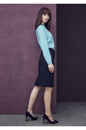 Multi Pleat Skirt (Poly/Wool)