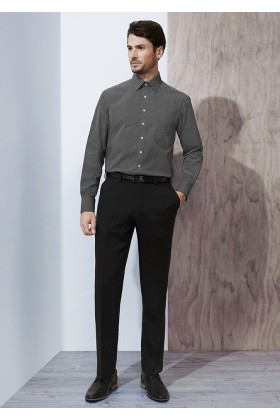 One Pleat Mens Pant (Poly/Bamboo)