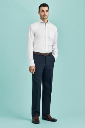 Flat Front Mens Pant (Poly/Bamboo)