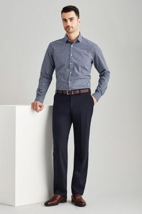 Flat Front Mens Pant (Poly/Wool)