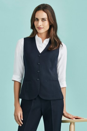 Longline Ladies Vest (Poly/Bamboo)