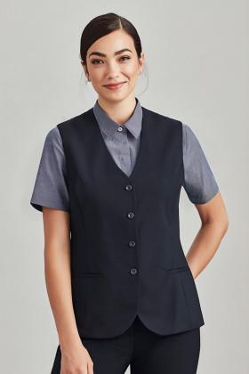 Longline Ladies Vest (Poly/Wool)