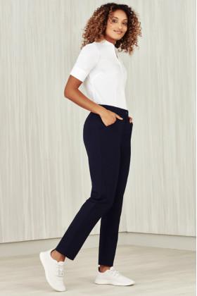 Comfort Waist Ladies Slim Leg Pant