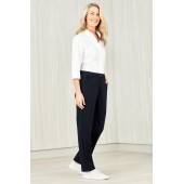 Comfort Waist Ladies Straight Leg Pant