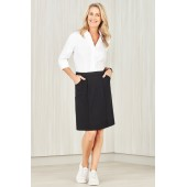 Comfort Waist Ladies Cargo Skirt