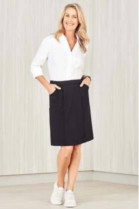 Comfort Waist Ladies Cargo Skirt
