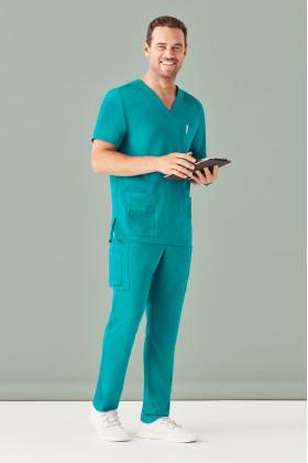 Poly Multi-Pocket Scrubs Mens Pant (4 Colours)