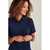 Easy Stretch Ladies Short Sleeve Shirt