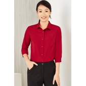 Easy Stretch Ladies 3/4 Sleeve Shirt