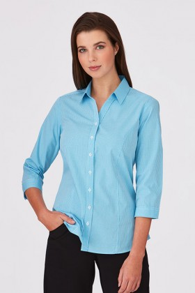 Pippa Check Ladies 3/4 Shirt