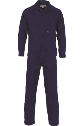 Lightweight Vented Cotton Drill Coveralls