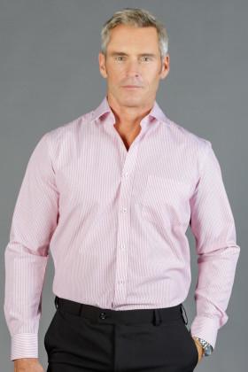 Carson Dobby Stripe Mens L/S Shirt