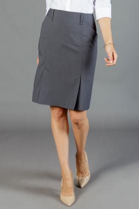 Elliot Ladies Box Pleat  Skirt