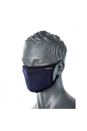 3 Layer Anti-Microbial Fabric Face Mask (Box of 25 Masks)