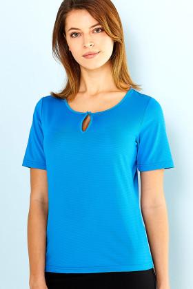 Silvertech Ladies S/S Knit Top