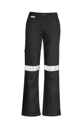 Taped Plain Ladies Utility Pant